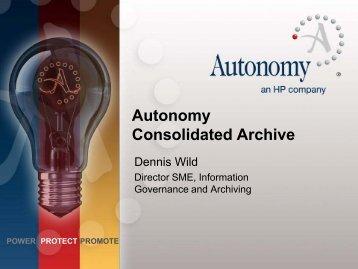 Autonomy Presentation - Osterman Research