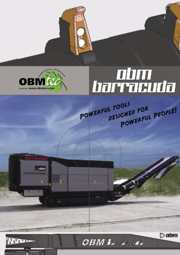 Powerful tools designed for Powerful People! - OBMtec BV