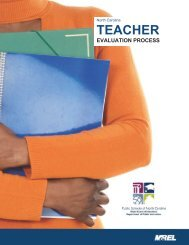 NCEES Teacher Evaluation Manual