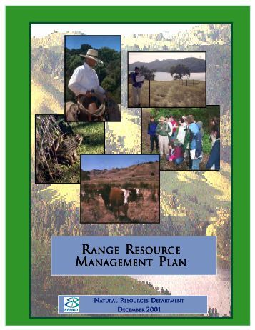 ranger esource management p lan - East Bay Municipal Utility District