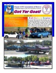 Classic GTO Association of Denver - Clubs