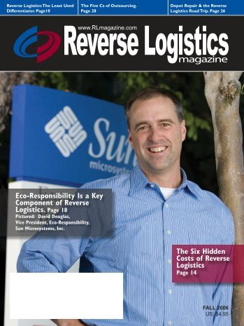 Eco-Responsibility Is a Key Component of Reverse Logistics. Page ...