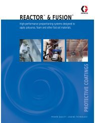 REACTOR™ & FUSION™ - Polyurethane Foam Systems Inc ...