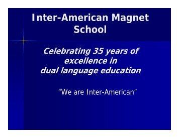 Math - Inter-American Magnet School
