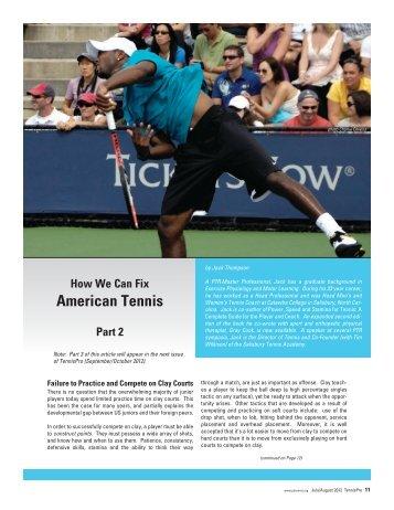 Round Robin Schedules Professional Tennis Registry