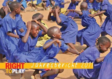 wirkung unserer programme - Right to Play