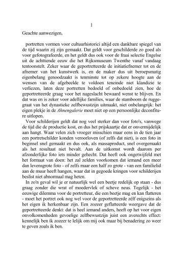 Ahnengalerie - Rijksmuseum Twenthe