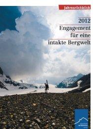 Jahresrückblick 2012 - Mountain Wilderness