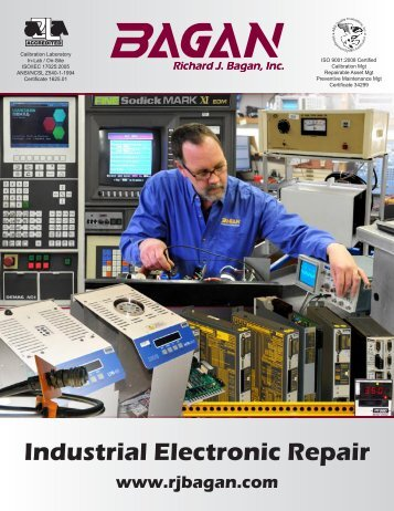 Bagan Electronic Repair PDF Brochure
