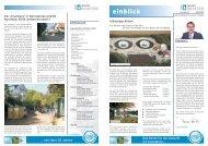 EINBLICK Ausgabe 7 - 09/2009 - Ingenieurbüro Richter