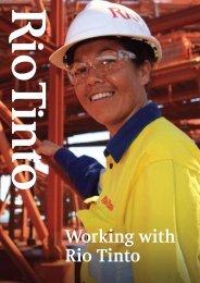 Working with Rio Tinto: Indigenous recruitment - Rio Tinto Iron Ore