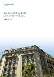 Informe de la Vivienda en Alquiler en España - Fotocasa