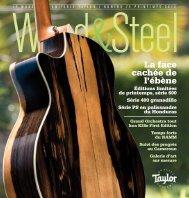 La face cachée de l'ébène - Taylor Guitars