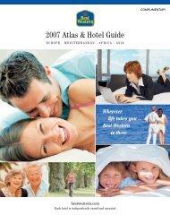 2007 Atlas & Hotel Guide - Best Western
