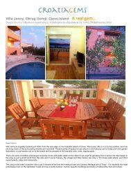 Villa Jenny, Okrug Gornji, Ciovo Island A real gem… - CroatiaGems
