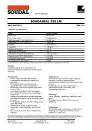SOUDASEAL 225 LM - Soudal