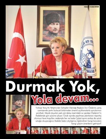 Türkiye Yarış Atı Yetiştiricileri Sahipleri Derneği Başkanı ... - LiderForm