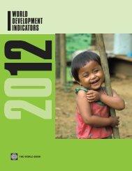 World Development Indicators 2012 - ISBN ... - The World Bank