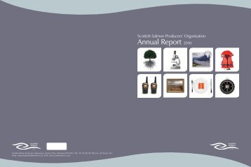 Annual Report 2010 - Scottish Salmon Producers' Organisation