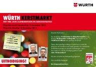Würth KErStMArKt - Würth Nederland