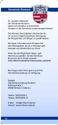 Soziales Netzwerk Rimbach - Rimbach im Odenwald