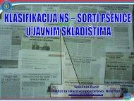 Veselinka Đurić Institut za ratarstvo i povrtarstvo, Novi Sad - NS seme