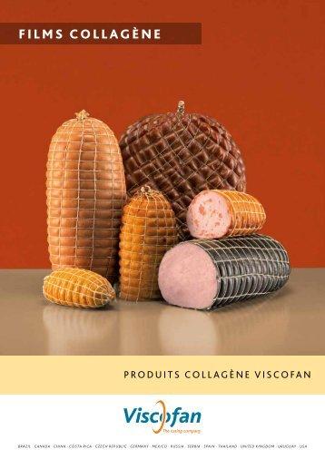 Feuilles de collagène - Viscofan