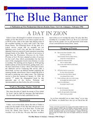 Volume 5 Issue 1-2. January-February 1996. - The Blue Banner