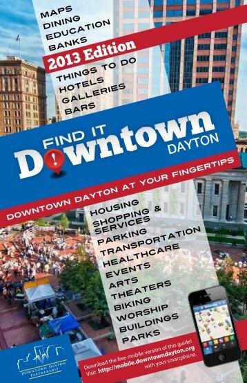 printed consumer guide - Downtown Dayton Partnership