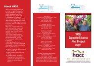 (VASS) SAPP brochure - Ethnic Communities Council of Victoria