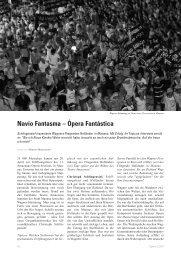 Navio Fantasma – Ópera Fantástica - Christoph Schlingensief