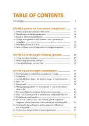 TABLE OF CONTENTS - Goldegg Verlag