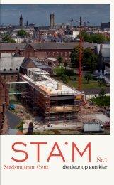STAMblad nr. 1 (juni 2009): Het STAM - de deur op een kier