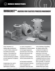 tm heaters for plastics process machinery - Durex Industries