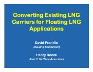 C ti E i ti LNG Converting Existing LNG Carriers for Floating LNG ...