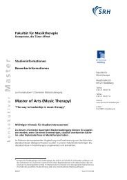 Master of Arts (Music Therapy) - Sky Lounge Sky Lounge