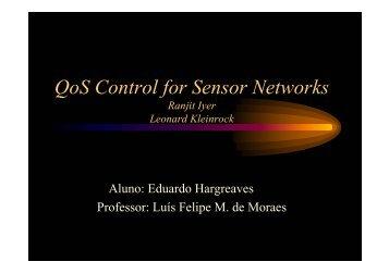 """Trabalho sobre o artigo """"Qos Control for Sensor Networks"""" - GARF"""