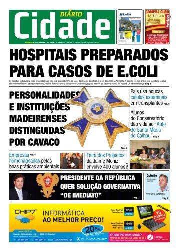 PERSONALIDADES E INSTITUIçõES MADEIRENSES ... - Cidade NET