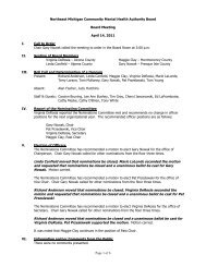 Board Meeting Minutes 04-14-11(pdf) - NEMCMH.org