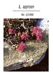 Lapprosen Nr. 3/1998 - Den norske Rhododendronforening