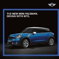MINI Cooper S Paceman - MINI.my