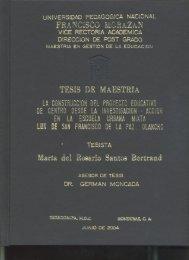 Maria Del RosarioSantos Bertrand - UPNFM