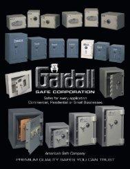 Gardall safes - Neff's Safe, Lock & Security Inc