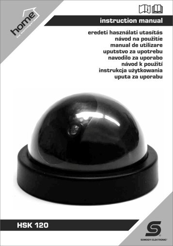 instruction manual HSK 120 - gizmoshop.hu