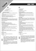 instruction manual HSK 120 - gizmoshop.hu - Page 4