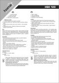 instruction manual HSK 120 - gizmoshop.hu - Page 5