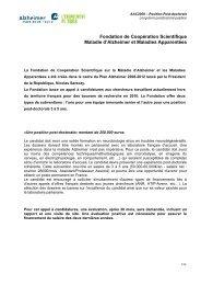 Fondation de Coopération Scientifique - CERTH, The Centre for ...