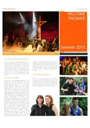 WELCOME PACK FINAL - Creative Arts Group eV