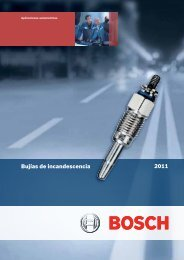 Bujías de incandescencia - Bosch Argentina