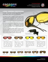 LOW VISION COCOONS - Cocoons Eyewear